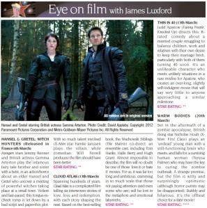 Eye On Film March