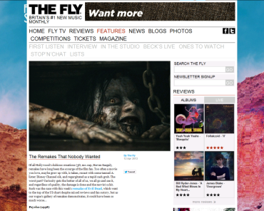 Fly Remakes Articles