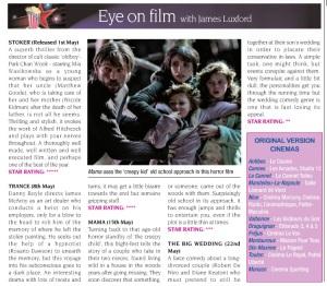 Eye On Film May