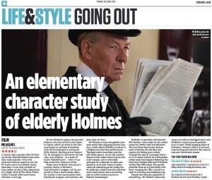Mr Holmes CityAM