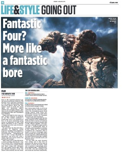 Fantastic 4 review