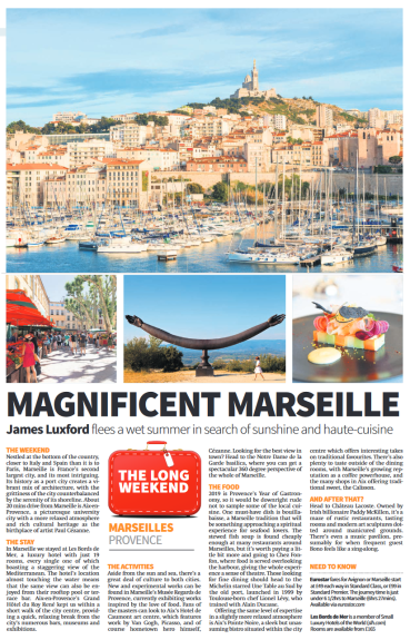 Marseilles Article