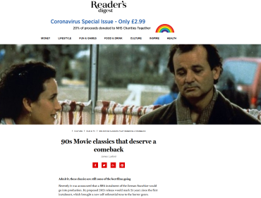 Screenshot_2020-07-10 90s Movie classics that deserve a comeback - Reader's Digest